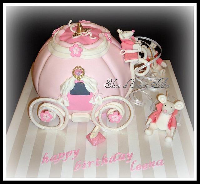 Cinderella Carriage/Coach Cake