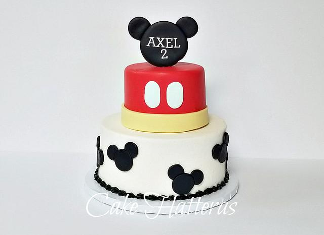Stupendous Mickey Birthday Cake Cake By Donna Tokazowski Cake Cakesdecor Funny Birthday Cards Online Elaedamsfinfo