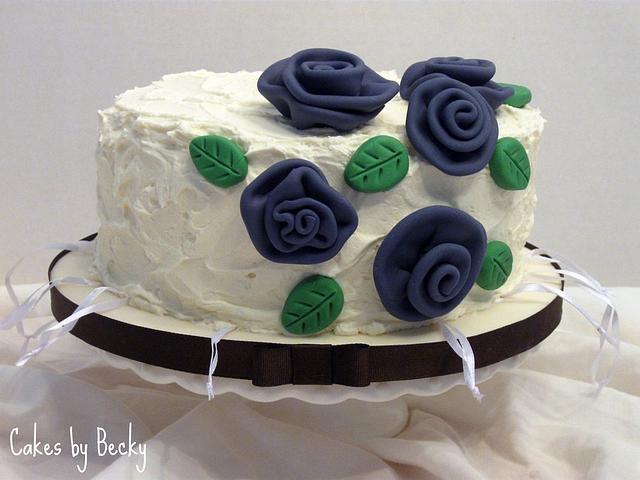 Bridal Shower Charm Pull Cake