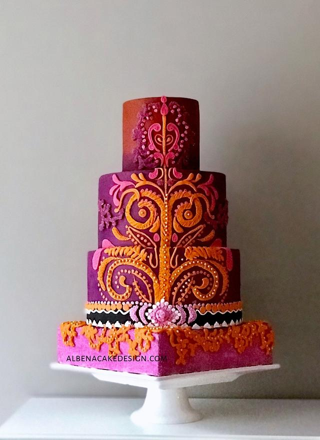 Indian Wedding Cake 2
