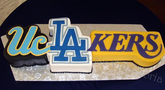 L.A. Groom's Cake