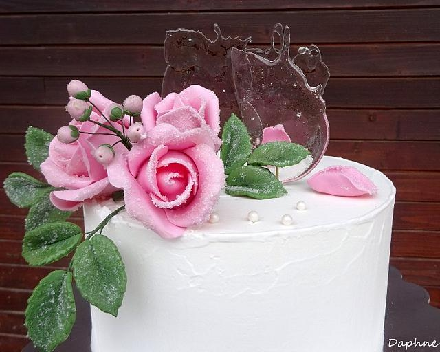 Roses and ice