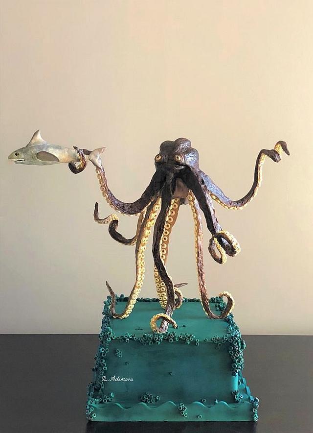Octopus cake!......