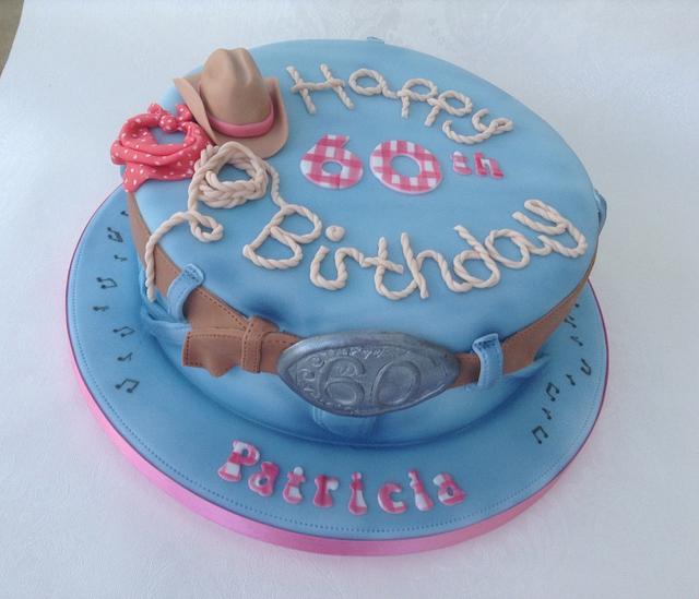 Cool Line Dancing Birthday Cake Cake By Deborah Cubbon Cakesdecor Personalised Birthday Cards Cominlily Jamesorg