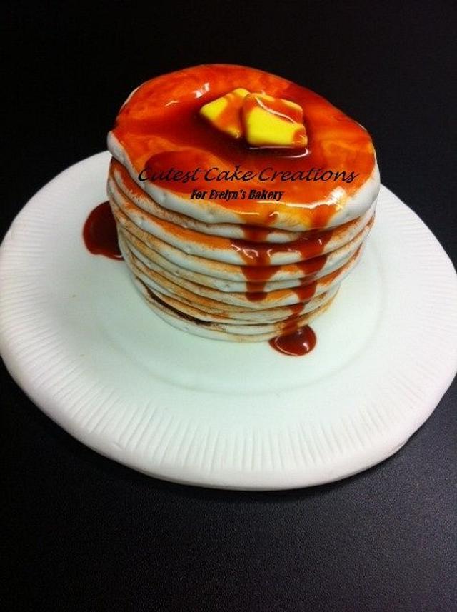 Pancakes (cupcake)