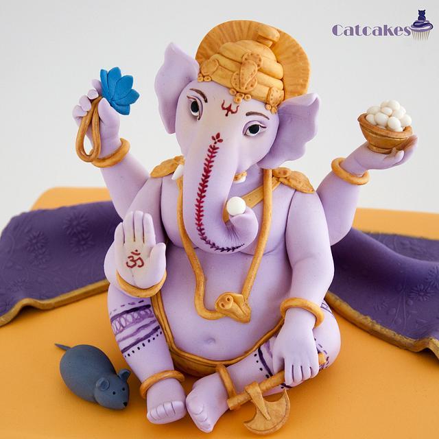 Ganesha cake
