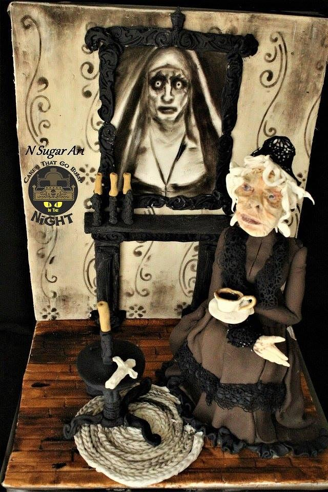 Creepy room -Cakes that go bump in the night collaboration