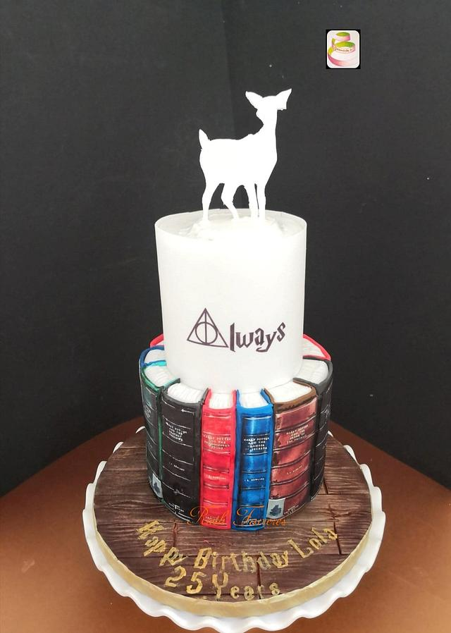 Groovy Harry Potter Birthday Cake Cake By Ruth Gatoandcake Cakesdecor Personalised Birthday Cards Paralily Jamesorg