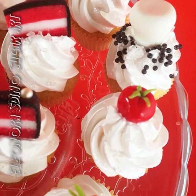 Mini cup cake chef