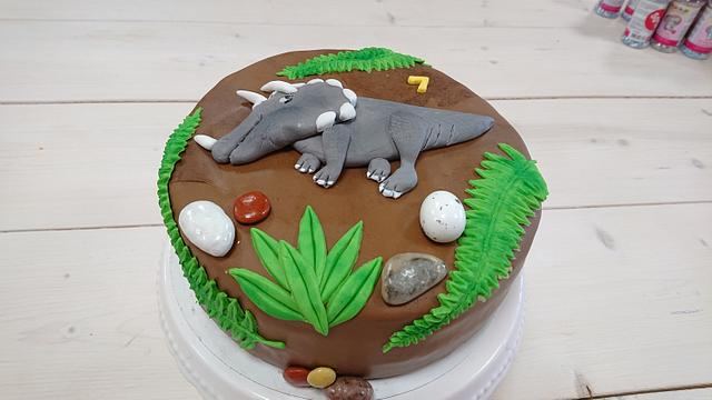 Dino cake 🦕