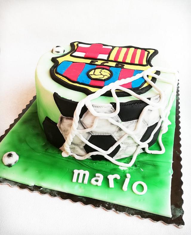 Fc Barcelona Cake Cake By Bernito01 Cakesdecor