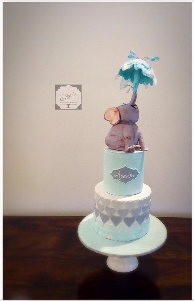 Splish splash cake!