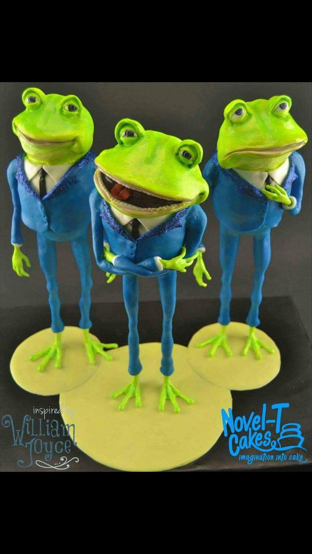 Frankie and the frogs- Inspired by William Joyce collaboration