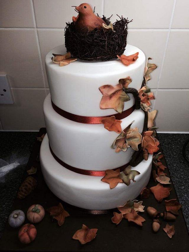 Autumnal cake.