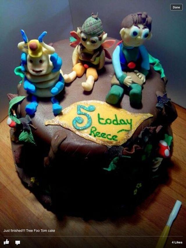 Tree Foo Tom Cake