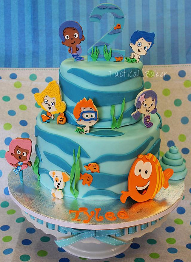 Cool Bubble Guppies Birthday Cake Cake By Cece Cakesdecor Birthday Cards Printable Trancafe Filternl
