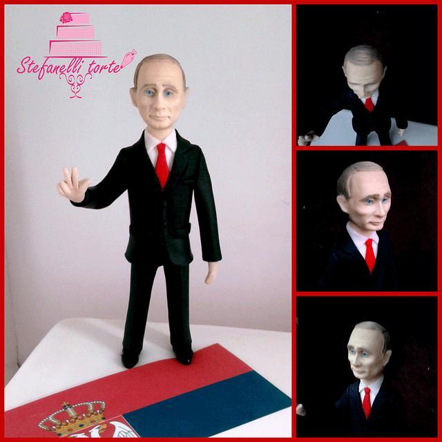 Vladimir Putin cake topper