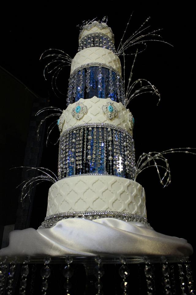 New Years Eve Wedding Cake
