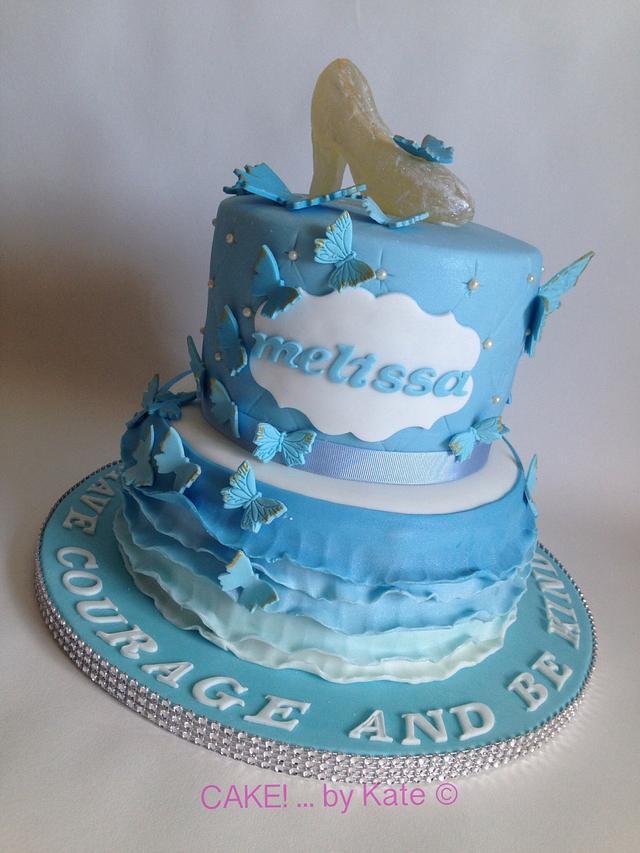 Brilliant Cinderella Themed Birthday Cake Cake By Cake By Cakesdecor Personalised Birthday Cards Petedlily Jamesorg