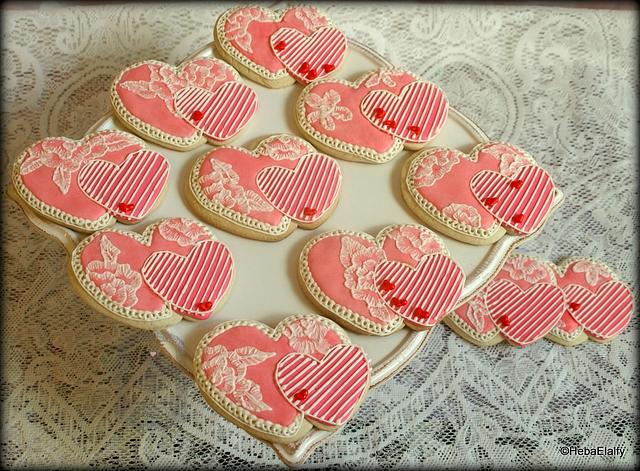 Valentine cookie set #1