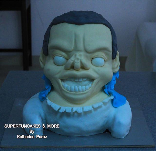 Hallowwen collaboration Funny zombie