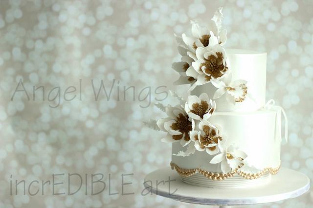 Angel Wings- Wedding Cake