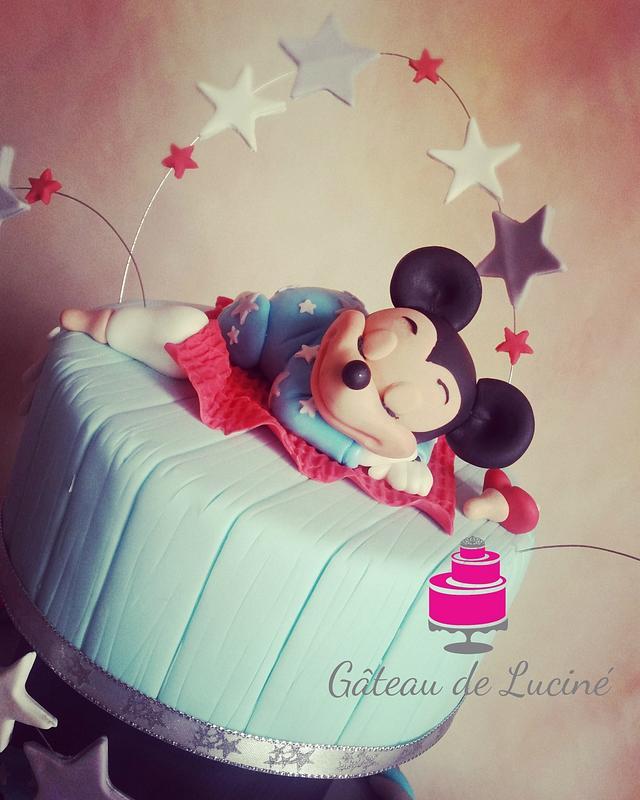 Sleeping Baby Mickey Mouse