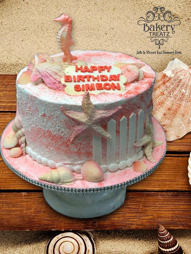 Seashells Cake