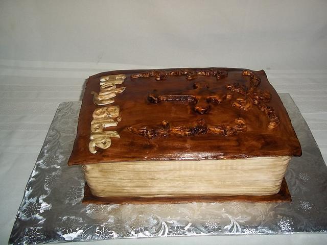 Bible Cake!