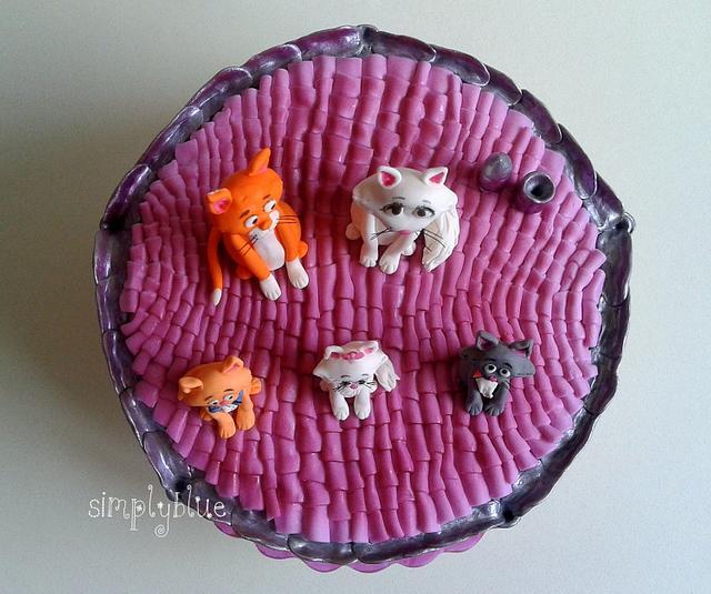 The AristoCats cake