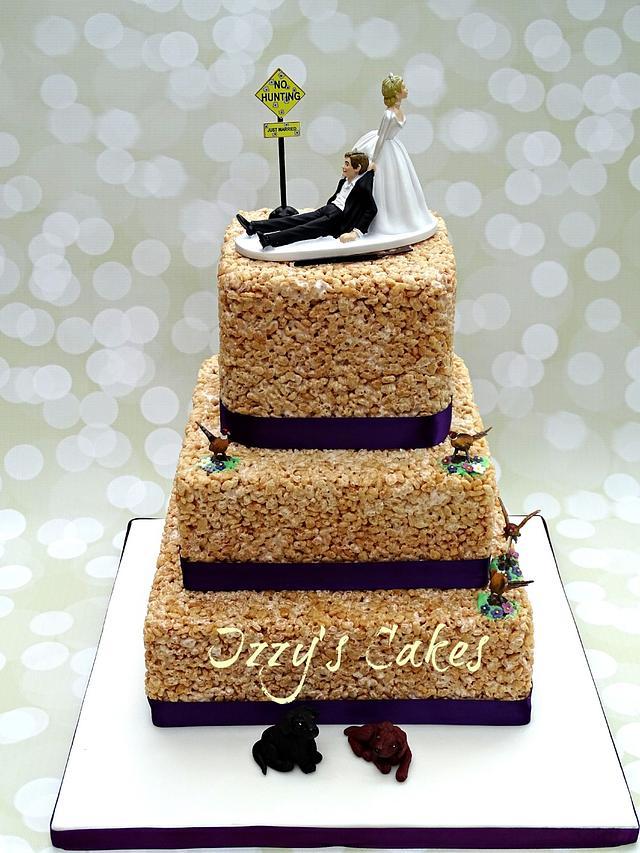 RKT Wedding Cake
