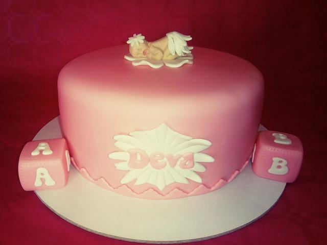 Baby Tea Party Cake...