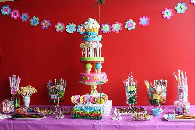 Awesome Candyland Birthday Cake Cake By Rostaty Cakesdecor Birthday Cards Printable Opercafe Filternl