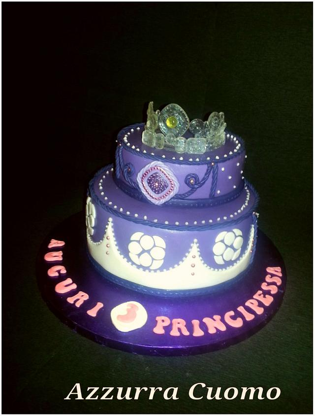 Super Princess Sofia The First Birthday Cake 2 0 Cake By Cakesdecor Funny Birthday Cards Online Overcheapnameinfo