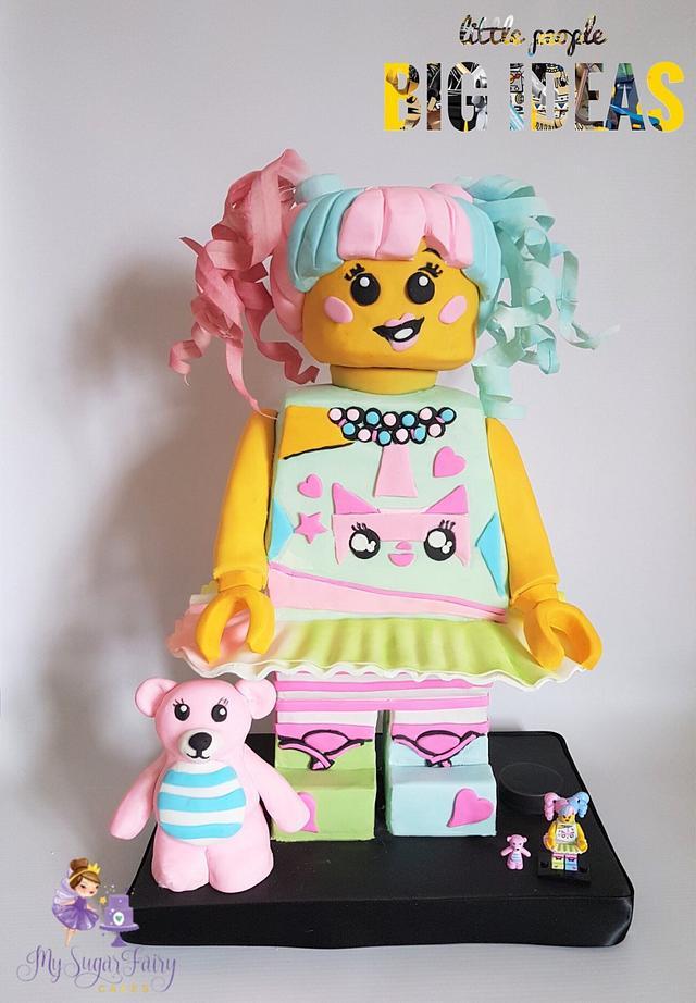 little people BIG IDEAS Lego Collaboration -  N-Pop Girl