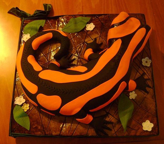 Salamander cake.