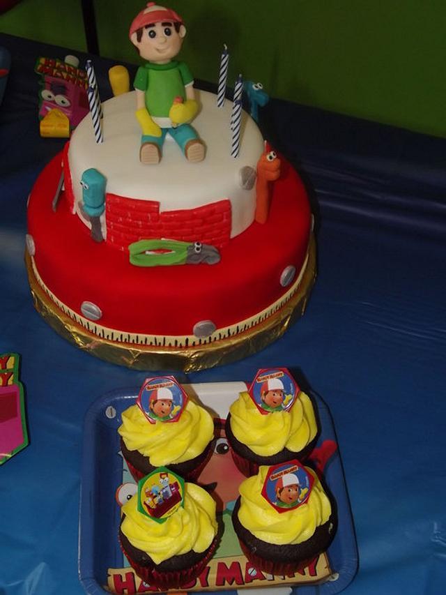 Handy Many theme cake