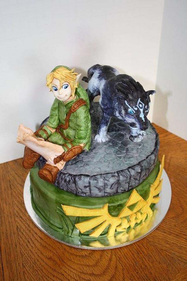 Zelda Twilight Princess Cake
