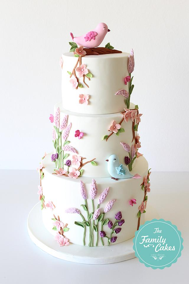 Country Baptism Cake