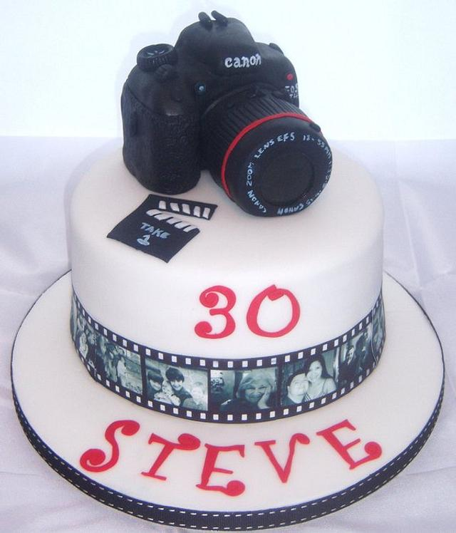 Admirable My Brother In Laws Camera Birthday Cake Cake By Kate Cakesdecor Funny Birthday Cards Online Benoljebrpdamsfinfo