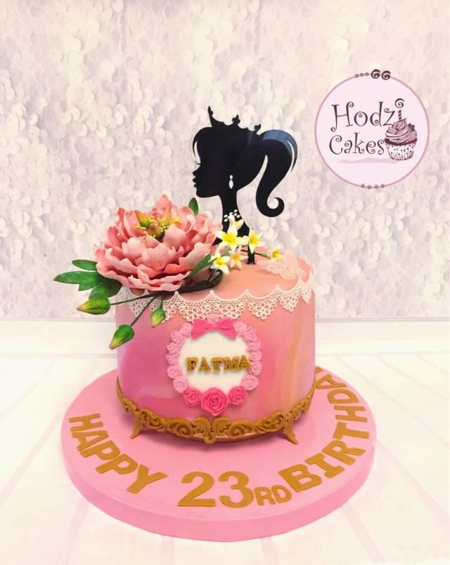 Surprising Princess Fatmas Birthday Cake Cake By Hend Cakesdecor Personalised Birthday Cards Arneslily Jamesorg