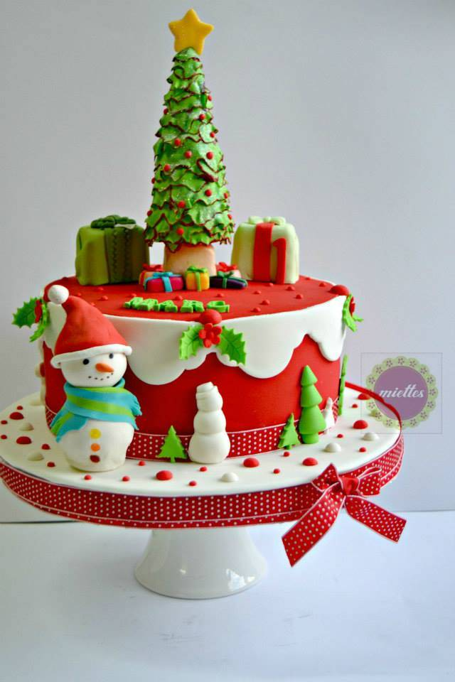 Super Two Christmas First Birthday Cakes For Same Boy Cake By Cakesdecor Funny Birthday Cards Online Barepcheapnameinfo