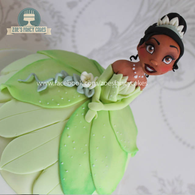 Wondrous Princess Tiana Doll Cake Cakesdecor Funny Birthday Cards Online Aeocydamsfinfo