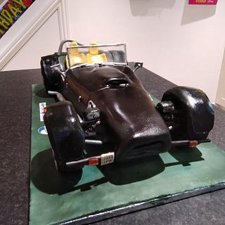 Kit car cake