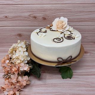 Sweet flower  - Cake by IlsognodiAnnette