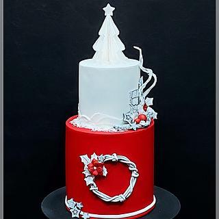 Christmas snow - Cake by Piu Dolce de Antonela Russo