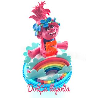 Cake Poppy rainbow
