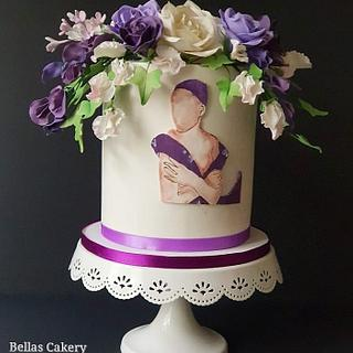 World Cancer Day Collaboration  - Cake by Bella's Cakes