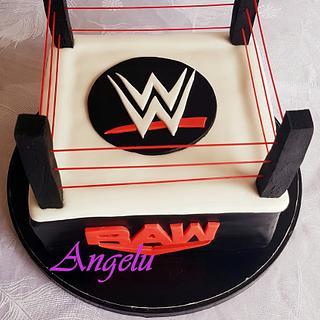 WWE catch ring