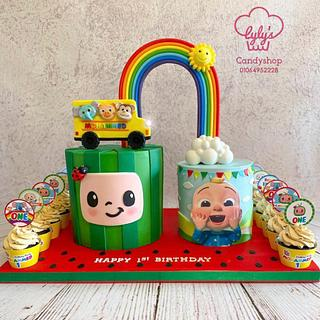 Cocomelon cake 👶🏻🍉 - Cake by Maaly